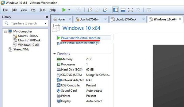 آموزش نصب ویندوز 10 روی ماشین مجازی VMware