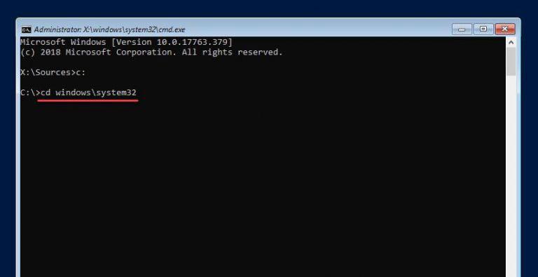 آموزش ریست پسورد ویندوز سرور 2019 و 2016 و 2012 - ریکاوری و بازیابی رمز عبور