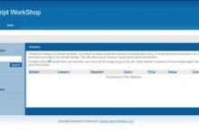 تصویر از اسکریپت حراجی دامنه Domain Name Portfolio