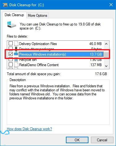 پوشه Windows.old چیست؟ نحوه حذف فولدر Windows.old
