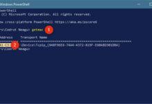 تصویر آموزش کامل دستور GETMAC در CMD ویندوز