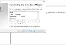 تصویر آموزش تنظیم Secondary Zone در ویندوز سرور ۲۰۱۹ و ۲۰۱۶ و ۲۰۱۲