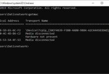 تصویر مک آدرس کامپیوتر کجاست؟ مشاهده و پیدا کردن MAC Address در ویندوز و لینوکس و مک
