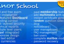 تصویر اسکریپت مدیریت مدرسه Minor School MCQ