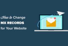 تصویر چگونه می توان رکوردهای MX را برای سایت وردپرس خود تغییر داد (گام به گام)