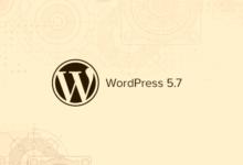 تصویر آنچه در وردپرس ۵٫۷ می آید (ویژگی ها و تصاویر صفحه)