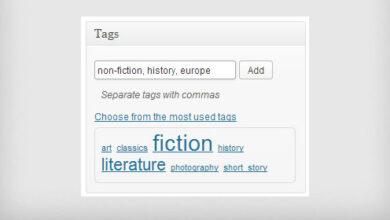تصویر مدیریت برچسب و لینک های داخلی