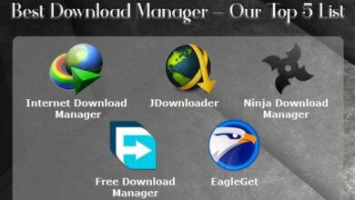 تصویر معرفی بهترین برنامه های دانلود منیجر در ویندوز