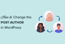 تصویر چگونه می توان نویسنده یک پست را در وردپرس تغییر داد
