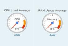تصویر آموزش نمایش میزان مصرف CPU و RAM در ویندوز ۱۰ و ۸ و ۷