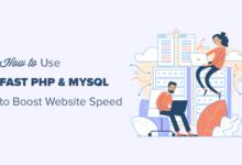تصویر PHP و MySQL با چه سرعتی می توانند سرعت وب سایت را افزایش دهند (راهنمای مبتدیان)